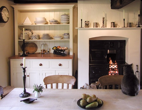 The Open Dresser Is A Traditional Georgian Piece Of Furniture And A Lovely  Addition To A