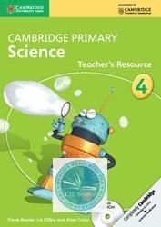 Cambridge Primary Science: Teacher's Resource Book with CD-ROM Stage 4