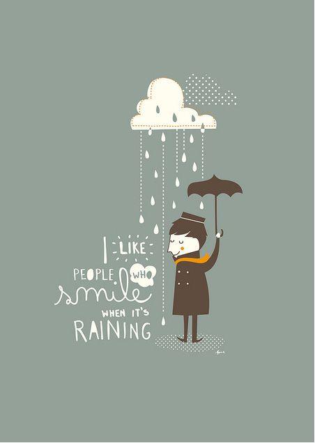 Al mal tiempo, buena cara...