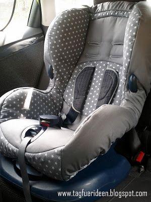 Tag für Ideen: Ein neuer Maxi-Cosi-Kindersitz-Bezug...