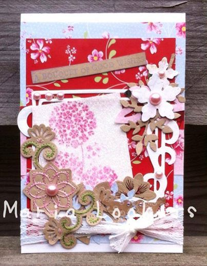Card with Noor Design
