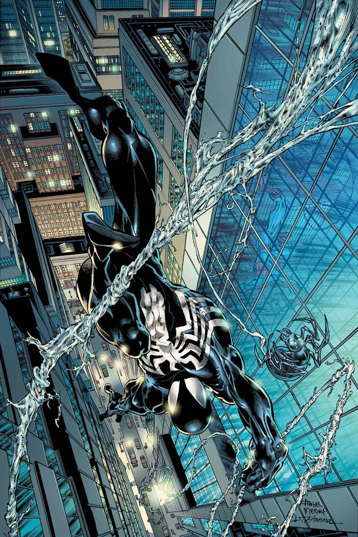 Spider-Man by Angel Medina ...really because this looks a lot like Venom?
