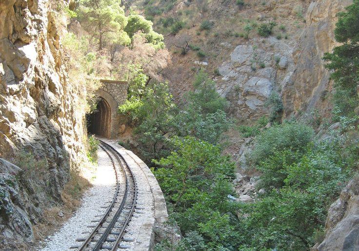 agroville excursions - Οδοντωτός σιδηρόδρομος Διακοφτό - Railway Diakofto