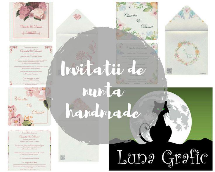 Wedding invitations by Luna Grafic