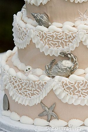 Unique Wedding cake by Trevor Allen, via Dreamstime