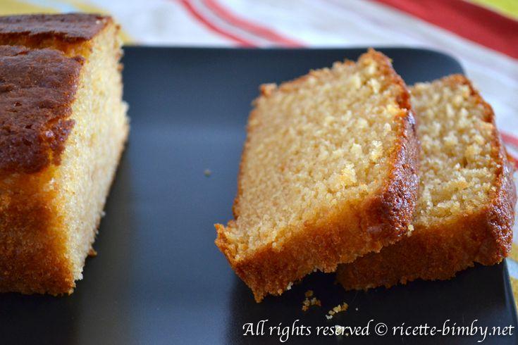 Plum cake al limone senza latticini Bimby • Ricette Bimby