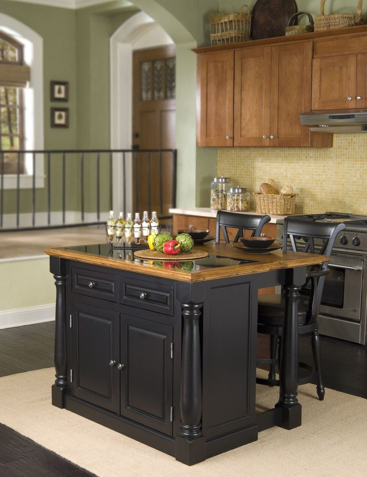 Image Result For Seating At Narrow Kitchen Island