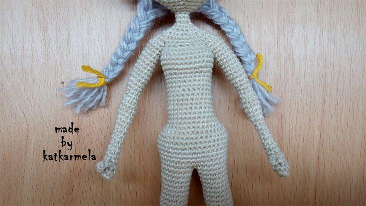 каркасная кукла крючком