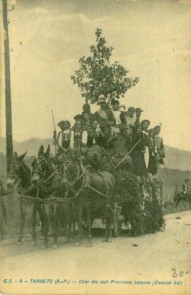 Tardets char des sept provinces Picabéa