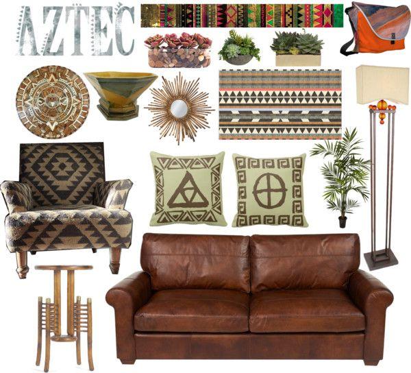 Aztec style home decor