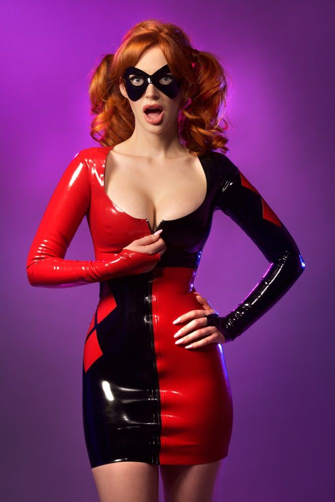 Harley quinn latex