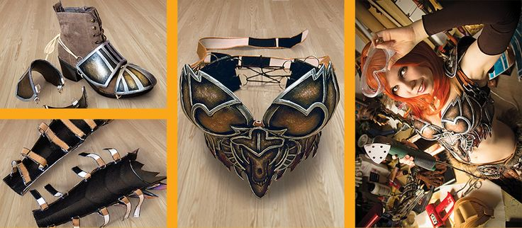 how to make chest armor cosplay
