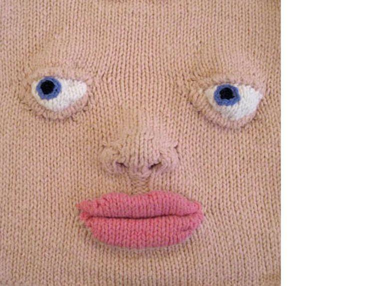 Lust att Sticka - Katarina Brieditis - Textile Design- knit a face