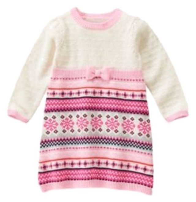 Gymboree Fair Isle Flurry Sweater Dress Find this and more here http://stores.ebay.com/starbabydesignshomestore https://www.facebook.com/StarBabyDesigns/