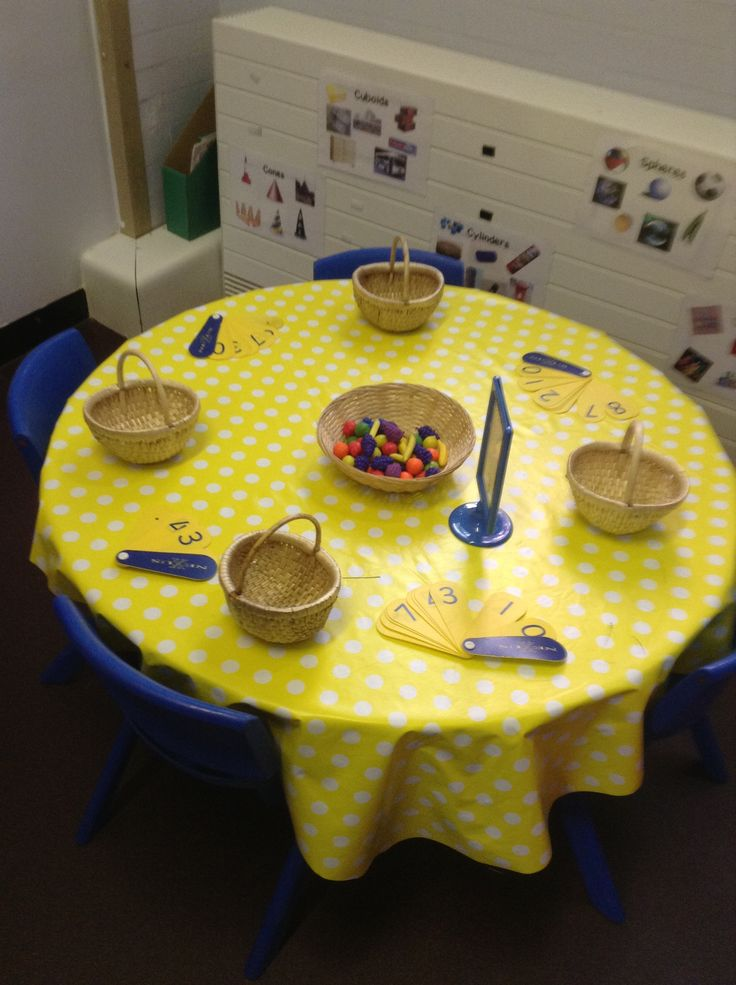 Counting fruit into handa's basket!