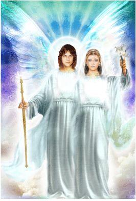 Arcanjo Gabriel e Esperança