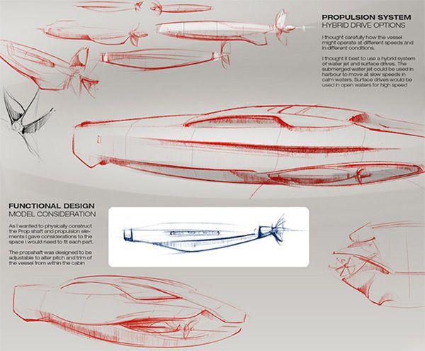 Phantom of the marina – Rolls-Royce inspired yacht | Yanko Design