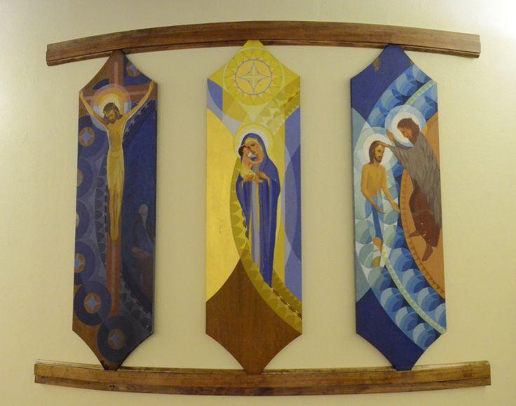 Eugene Masselink Frank Lloyd Wright ____Original icons designed by Eugene Masselink Frank Lloyd Wright Annunciation Greek Orthodox Church in Milwaukee, WI.