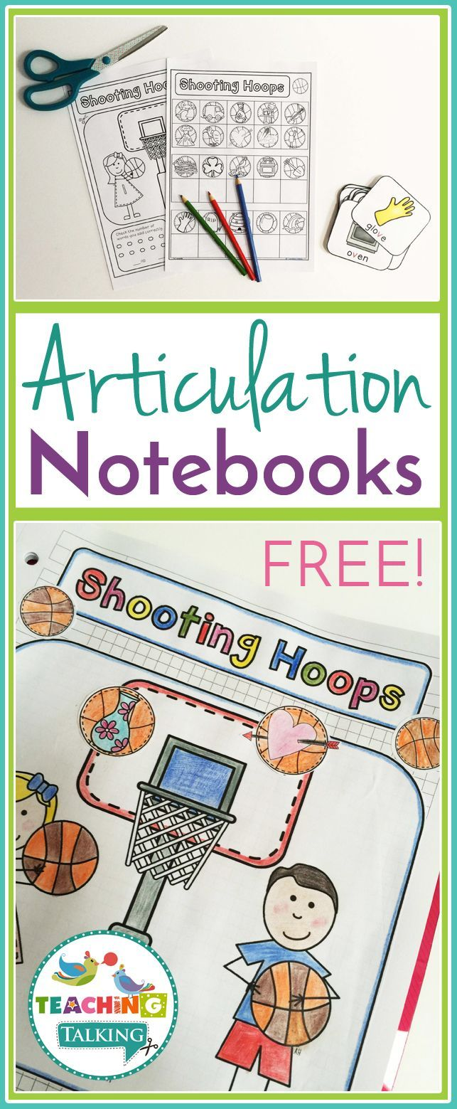 Coloring activities speech therapy - Free Articulation Notebooks For Speech Language Therapy Are Perfect For Working With Mixed Groups Articulation Activitiesarticulation