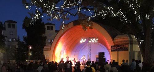 Levitt Pavilion - free concerts Wednesdays through Sundays during the summer in Pasadena