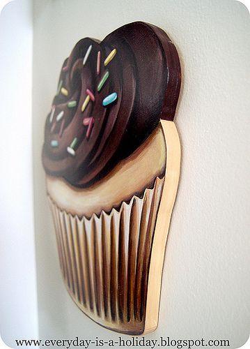Cupcake Wall Art best 25+ cupcake kitchen decor ideas only on pinterest | cupcake