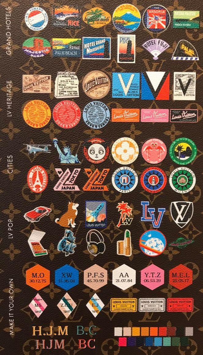 c0939e5f0c Louis Vuitton My LV World Tour Stickers | Calander/ Planner | Louis ...