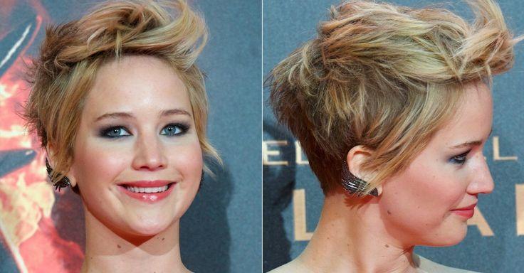 jennifer+Lawrence+Pixie | Jennifer Lawrence - pixie cut