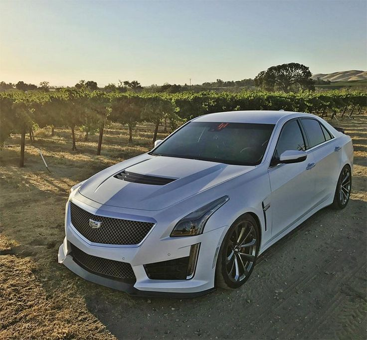 2016 Cadillac CTS-V In MATTE WHITE?! You've Got To See This