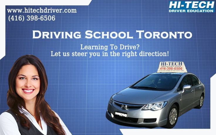Driving School Toronto Learn the driving from Hi-Tech Driver Education in Toronto. For any details you cam call at: (416) 398-6506 and visit at: www.hitechdriver.com #drivingschool #drivingschooltoronto #torontodrivingschool
