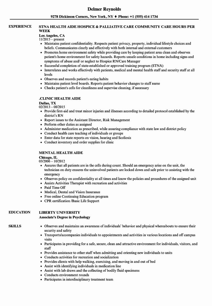 20 Health Unit Coordinator Job Description Resume ...