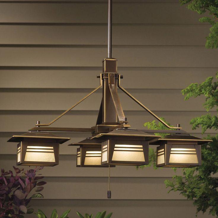 Craftsman Chandelier Http://www.modernlamps.info/craftsman Chandelier/ · Outdoor  ChandelierChandelier IdeasCraftsman ...