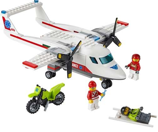 Lego City Ambulance Plane