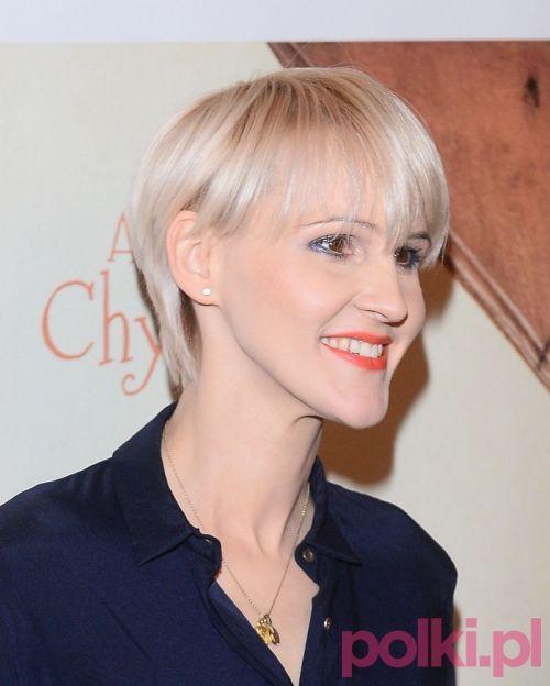Agnieszka Chylińska - nowa fryzura