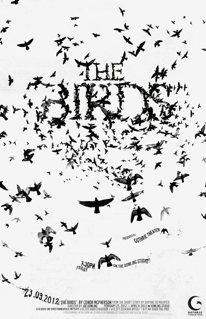 'The Birds' movie poster