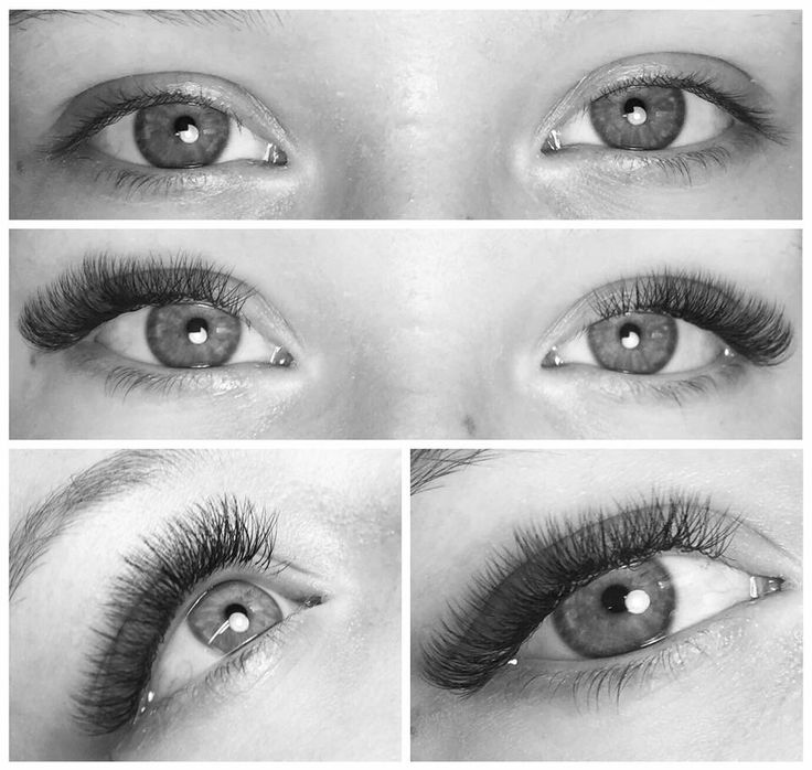 Vippeextensions volum vipper volume lashes XD lashes before and after