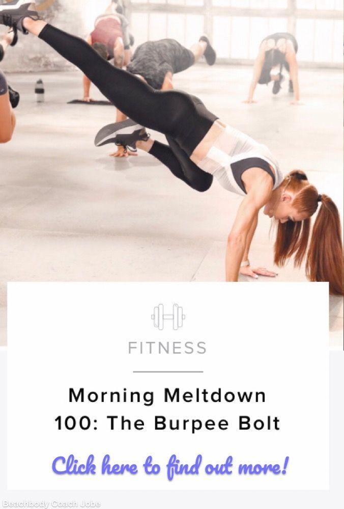 Morning Meltdown 100: The Burpee Bolt | All FITNESS