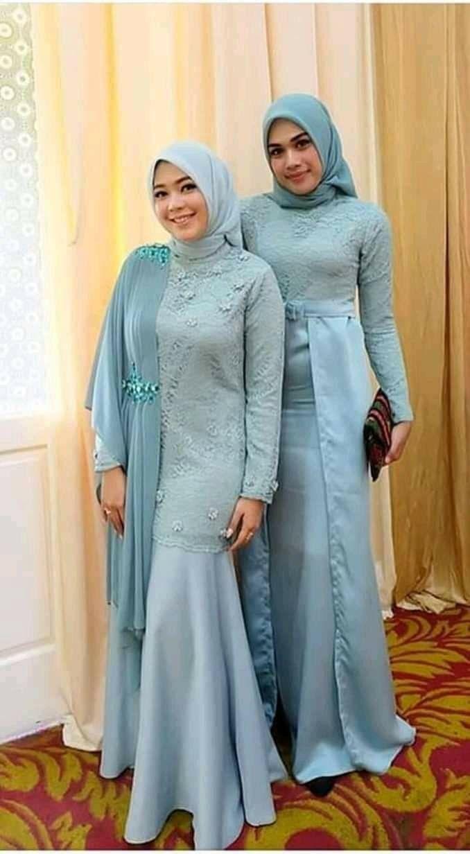 Pin By Niek Marshant On Model Pakaian Hijab In 2019 Dress Brokat