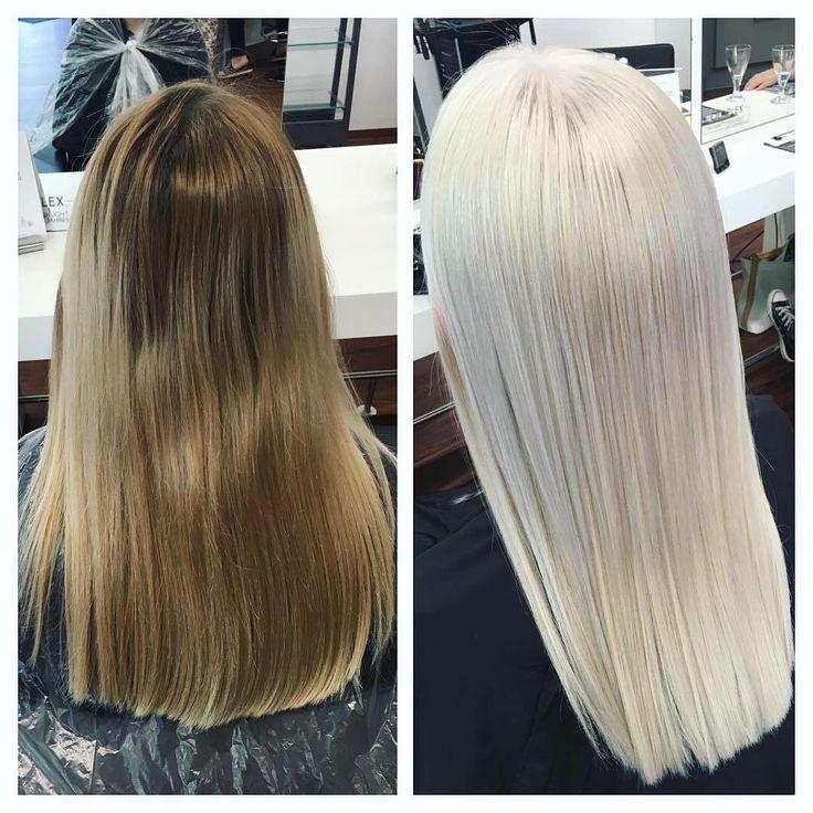 Ombre hair blond kaputt