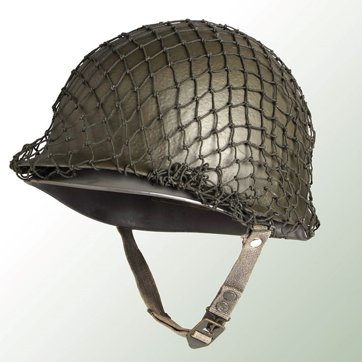 M1 Style Steel Surplus Helmet with Net: These olive drab surplus helmets are the US M1 style, complete with liner, chinstraps, suspension, sweatband and helmet net. These helmets were used in Europe and have seen very little use. They are in excellent condition showing perhaps some scuff marks, but no major dents, dings, cracks etc., as are usually found on M1 helmets from the U.S. and Europe. A great gift for anyone who served up until the 1980's.