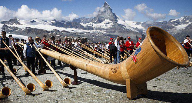 Trompa alpina