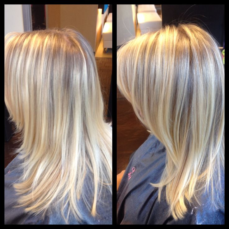 @malisa957 Before & After: traditional foil highlights to ...