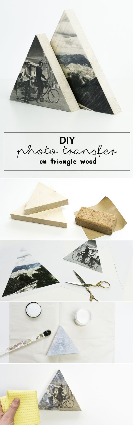 Photo on wood DIY – that's how it works!