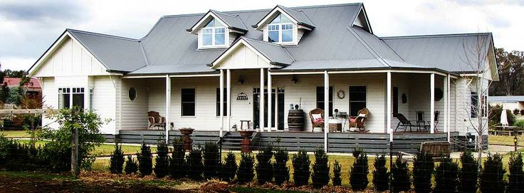 I have a love for weatherboard homes