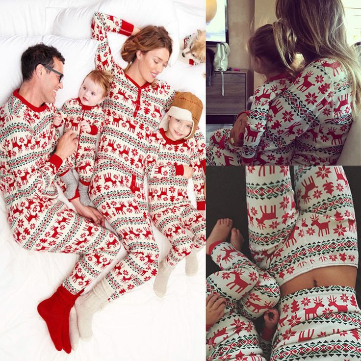 XMAS / Christmas Matching Family Pajama's PJ's Kids, Mother, Dad