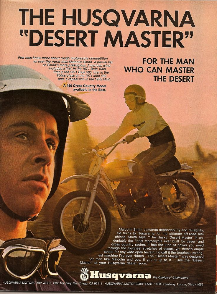 For the man who can master the desert.
