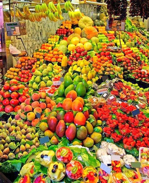 Fruit market in Mexico City