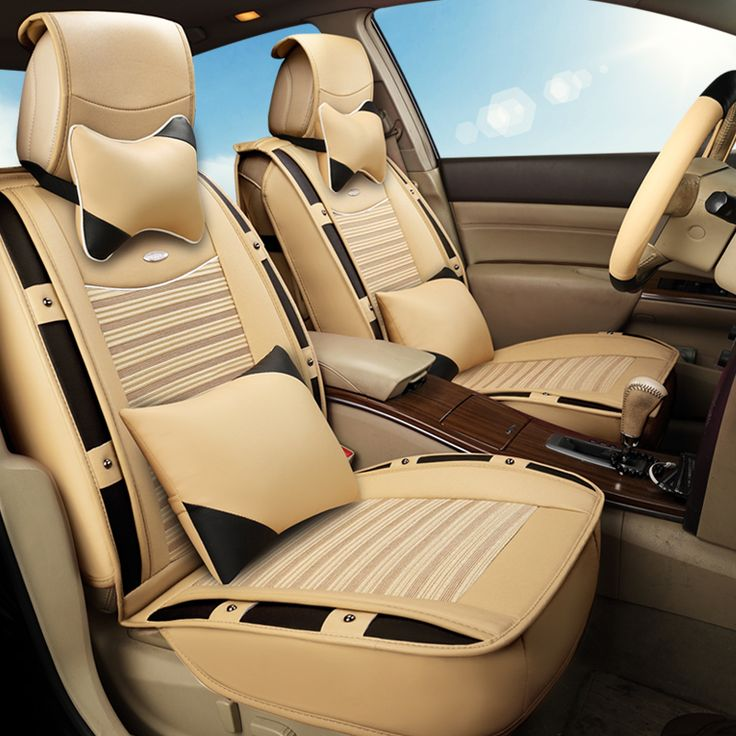 3D Sports Car Seat Cover Cushion Ice Silk For Skoda Octavia Superb Yeti Fabia spaceback Rapid ,High-fiber Leather, #Affiliate