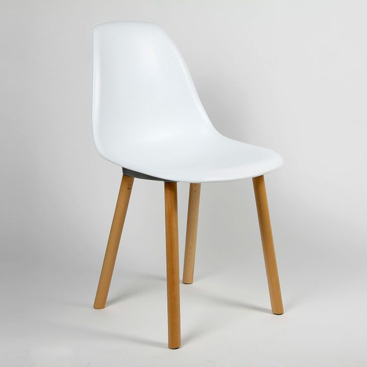 Silla Tower Wood - New Style - (Sillas Modern Classics) en color blanco