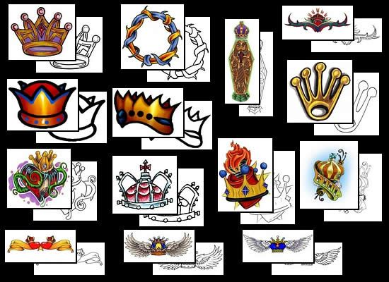 Free Crown Tattoo Designs Gallery