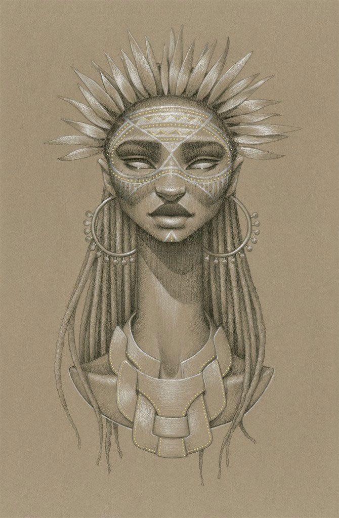 anyanwu Sara Golish est une artiste basée à Toronto.